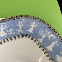 Crown Staffordshire | Grecian Dancing Maiden | RD 703050 | Cake Bread Plate x 2 | 1924